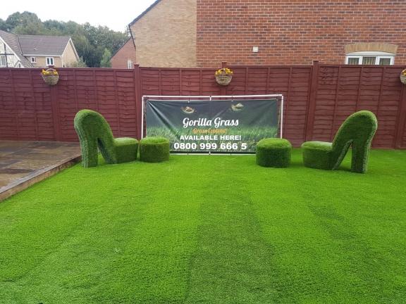 artificial grass bespoke furniture