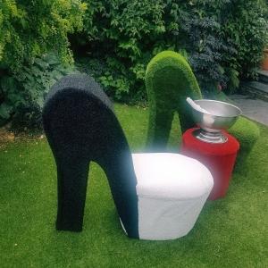 artificial grass furniture