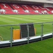 artificial grass stadium