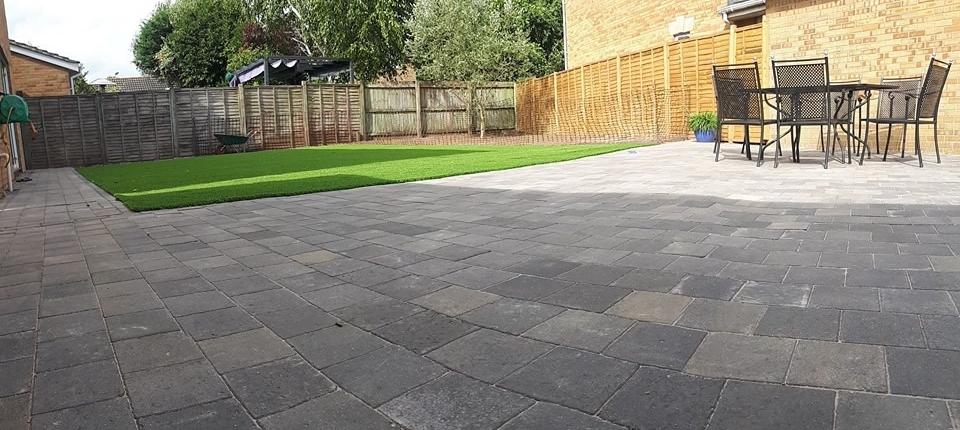 artificial grass patio