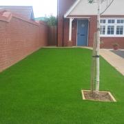 artificial grass front garden