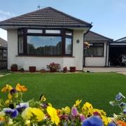 artificial grass home garden